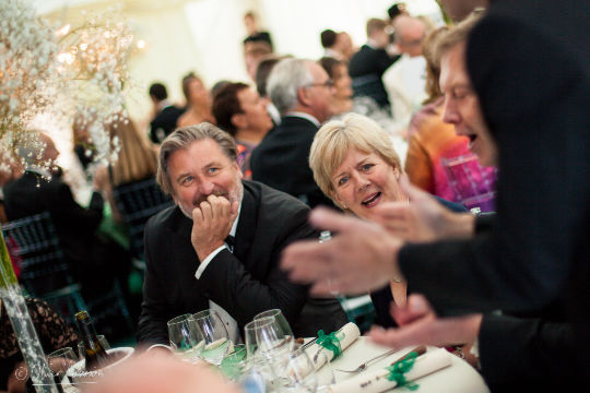magician for garden party events