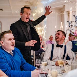 wedding table magician wedd